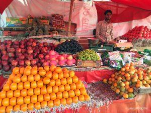 Fruit stand, Jaipur